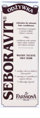 Farmona Seboravit bezoplachová kúra pro mastné vlasy a vlasovou pokožku 2