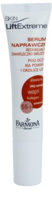 Farmona LiftExtreme 55+ ráncfeltöltő száj- és szemkörnyékápoló szérum