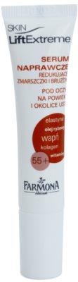 Farmona LiftExtreme 55+ verjüngende Creme für Augen- und Lippenkonturen
