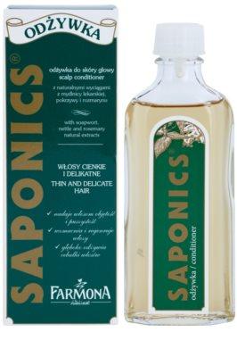 Farmona Saponics odżywka do włosów i skóry głowy bez spłukiwania 1