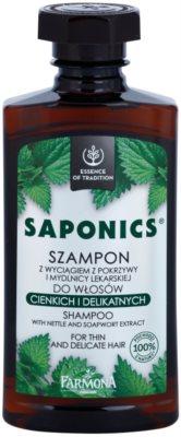 Farmona Saponics sampon a haj megerősítésére