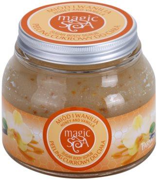 Farmona Magic Spa Honey & Vanilla cukros peeling testre
