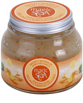 Farmona Magic Spa Honey & Vanilla cukrový peeling na tělo