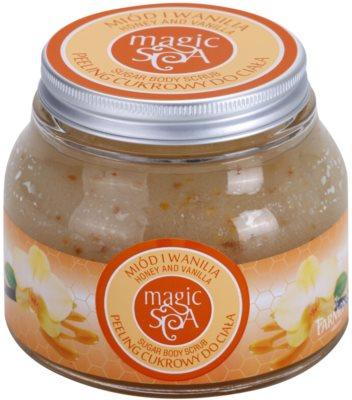 Farmona Magic Spa Honey & Vanilla exfoliante a base de azúcar para el cuerpo