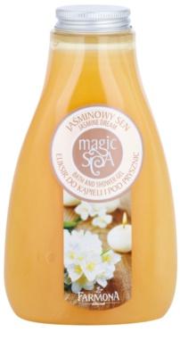 Farmona Magic Spa Jasmine Dream tusoló- és fürdőgél tápláló hatással