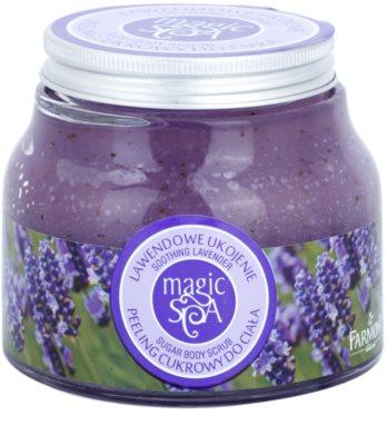 Farmona Magic Spa Soothing Lavender exfoliante a base de azúcar para el cuerpo