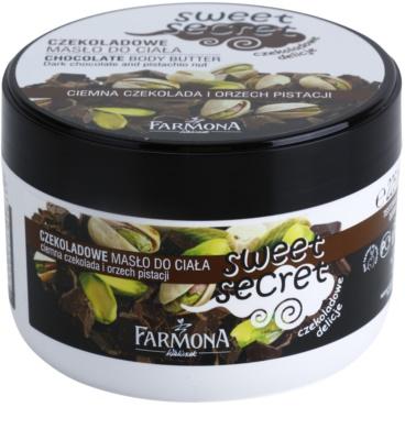 Farmona Sweet Secret Chocolate manteca corporal