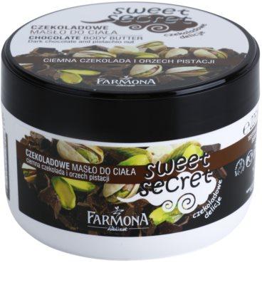 Farmona Sweet Secret Chocolate manteiga corporal