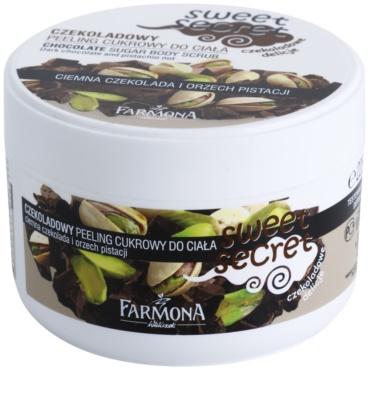 Farmona Sweet Secret Chocolate cukros peeling testre