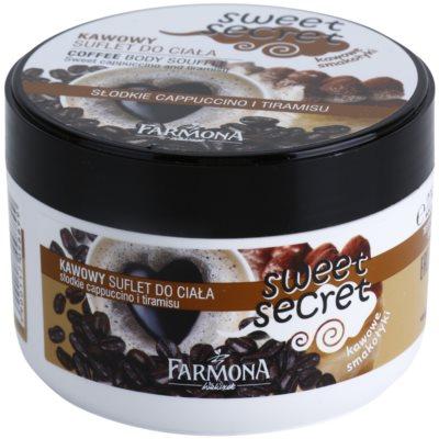 Farmona Sweet Secret Coffee testápoló szuflé