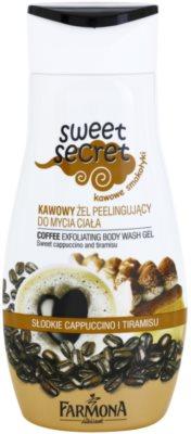 Farmona Sweet Secret Coffee gel de ducha exfoliante