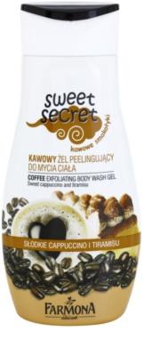 Farmona Sweet Secret Coffee gel de dus exfoliant