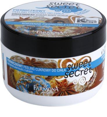 Farmona Sweet Secret Gingerbread cukros peeling