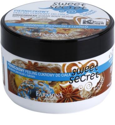 Farmona Sweet Secret Gingerbread exfoliante a base de azúcar