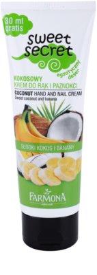Farmona Sweet Secret Coconut creme para mãos e unhas