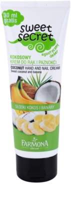Farmona Sweet Secret Coconut obnovujúci krém na ruky