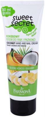 Farmona Sweet Secret Coconut крем для рук та нігтів