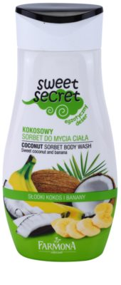 Farmona Sweet Secret Coconut gel de dus serbet