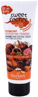 Farmona Sweet Secret Almond eine Crem zum Schutz von Händen und Nägeln