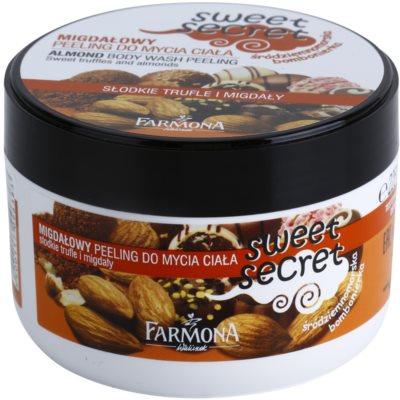 Farmona Sweet Secret Almond gel de ducha exfoliante