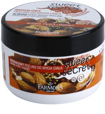 Farmona Sweet Secret Almond gel de dus exfoliant