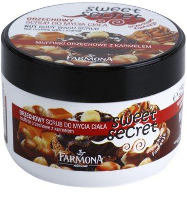 Farmona Sweet Secret Nut peeling de açúcar