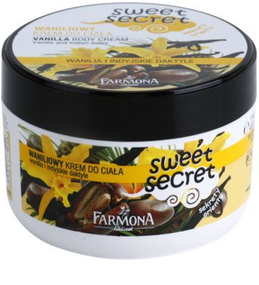 Farmona Sweet Secret Vanilla tělový krém