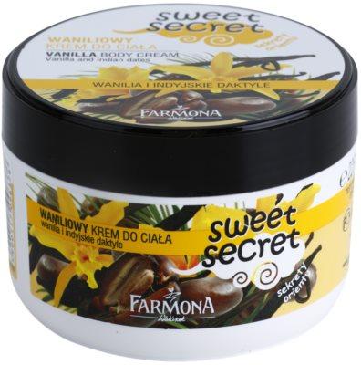 Farmona Sweet Secret Vanilla крем для тіла
