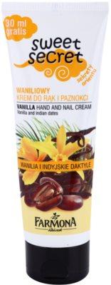 Farmona Sweet Secret Vanilla krém na ruce a nehty