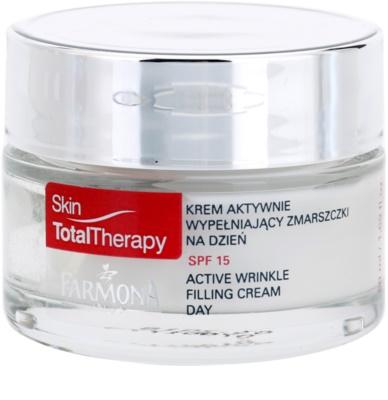 Farmona Skin Total Therapy aktive Tagescreme gegen Falten SPF 15