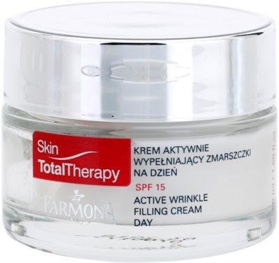 Farmona Skin Total Therapy creme ativo diário antirrugas SPF 15