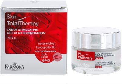 Farmona Skin Total Therapy nočna krema, ki stimulira regeneracijo celic 1