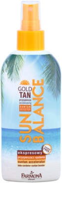 Farmona Sun Balance leche corporal en spray para acelerar el bronceado