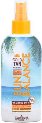 Farmona Sun Balance tělové mléko ve spreji pro urychlení opálení
