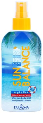 Farmona Sun Balance krem nawilżający po opalaniu o działaniu regenerującym