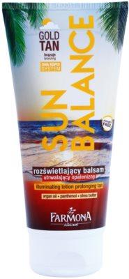 Farmona Sun Balance молочко-автозагар продовження засмаги