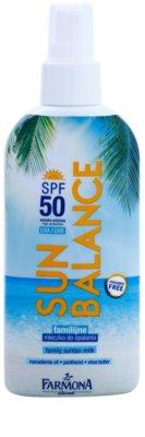 Farmona Sun Balance молочко для засмаги у формі спрею SPF 50