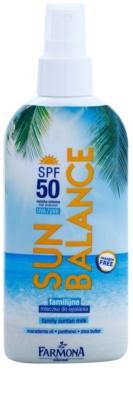Farmona Sun Balance losjon za sončenje v pršilu SPF 50