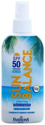 Farmona Sun Balance Naptej spray formában SPF 50