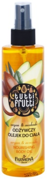 Farmona Tutti Frutti Argan & Avocado олійка для тіла у формі спрею з поживною ефекту