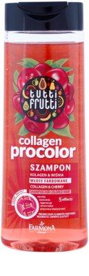 Farmona Tutti Frutti Collagen Procolor шампунь для фарбованого волосся