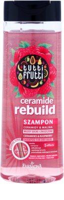 Farmona Tutti Frutti Ceramide Rebuild champô para cabelo seco a danificado