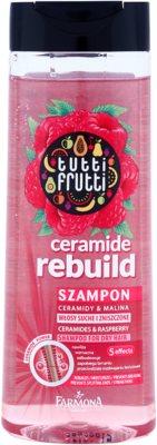Farmona Tutti Frutti Ceramide Rebuild šampon pro suché a poškozené vlasy