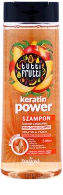 Farmona Tutti Frutti Keratin Power sampon a finom hajért