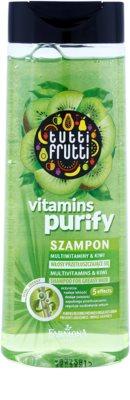 Farmona Tutti Frutti Vitamins Purify champô para cabelo oleoso