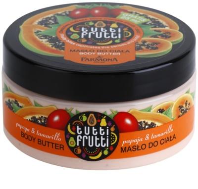Farmona Tutti Frutti Papaja & Tamarillo masło do ciała