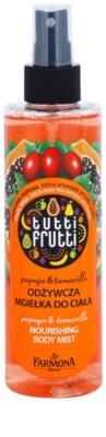 Farmona Tutti Frutti Papaja & Tamarillo meglica za telo z hranilnim učinkom