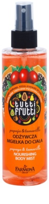 Farmona Tutti Frutti Papaja & Tamarillo mgiełka do ciała o działaniu odżywczym