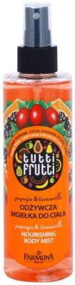 Farmona Tutti Frutti Papaja & Tamarillo test permet tápláló hatással