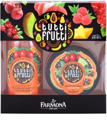 Farmona Tutti Frutti Papaja & Tamarillo set cosmetice I.